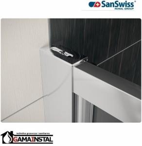 Sanswiss ECO-LINE drzwi jednoczęściowe 80 cm ECOP08000107
