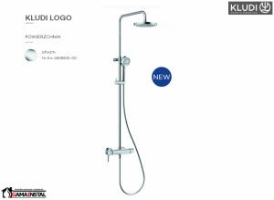 KLUDI Logo Dual Shower System