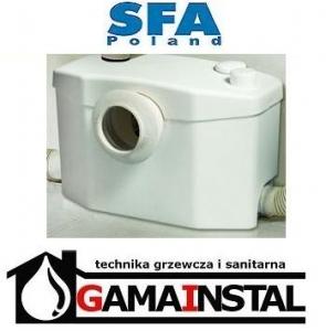 SFA SANIPRO Silence pompa rozdrabniająca WC