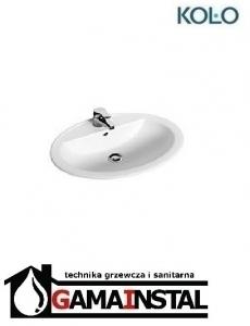 Koło Nova Top umywalka wpuszczona w blat z otworem 60 x 48 cm 1527