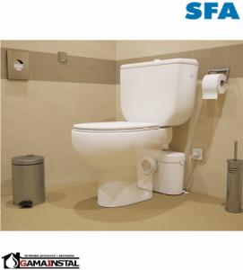 Saniaccess 1 pompa do obsługi dodatkowej toalety.