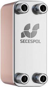 Secespol wymiennik płytowy lutowany moc 45 kW  LB 31-40 dn25 (40 płytowy) 0203-0064