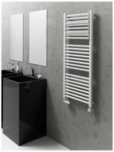 Instal Projekt grzejnik łazienkowy CLEVO 605X777 biały CLE-60/80