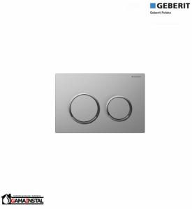 Omega 20 przycisk spłukujący chrom matowy / chrom błyszczący/ chrom matowy 115.085.KN.1