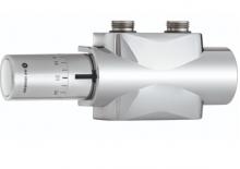Heimeier Multilux 4 zestaw z głowicą halo zawór termostatyczny chrom 9690-28.800