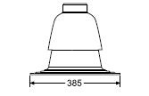 Saunier Duval nasada szachtu 80 PP 0020199422
