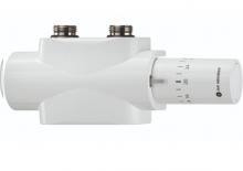 Heimeier Multilux 4 zestaw z głowicą halo zawór termostatyczny biały 9690-27.800