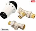 Danfoss zestaw termostatyczny TRV prosty 013G5164