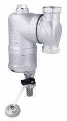 Afriso separator zanieczyszczeń FAR 201  chromowany z magnesem 7772010